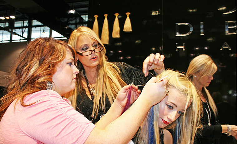 Vikki Parman; CEO DiBiase Hair Extensions, USA