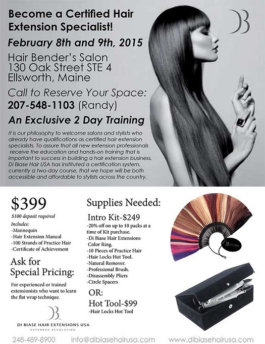Carabito dibiase hair extensions 2 day seminar are proud to offer this all new 2 day certification class extension seminar pmusecretfo Gallery