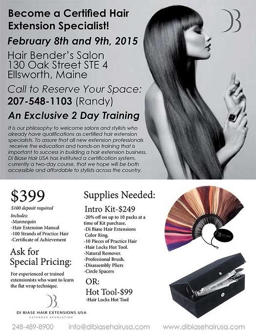Carabito Dibiase Hair Extensions 2 Day Seminar